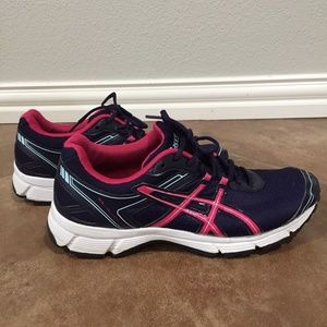Asics Blue and Pink Gel Shoes